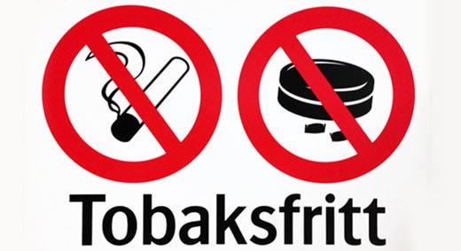 Tobaksfritt